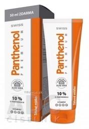 SWISS Panthenol PREMIUM 10% telové mlieko 200+50 ml zadarmo (250 ml)