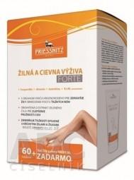 PRIESSNITZ Žilná a cievna výživa FORTE cps 1x60 ks + zadarmo Gél žily a cievy 125 ml, 1x1 set