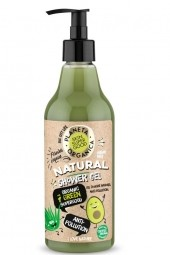Prírodný sprchový gél – Organických 7 zelených super zložiek