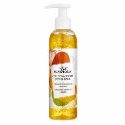 Citrusová bomba - organický peelingový sprchovací gél