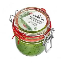 Magické bylinky (Babičkina záhradka) - organický soľný telový peeling