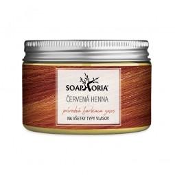 Bylinná farbiaca zmes na vlasy z henny - mahagónovo červená