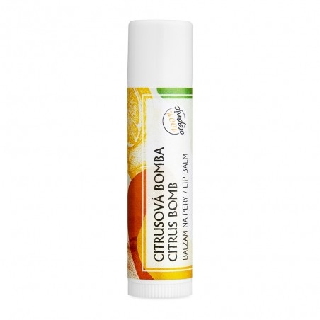 Citrus - organický balzam na pery