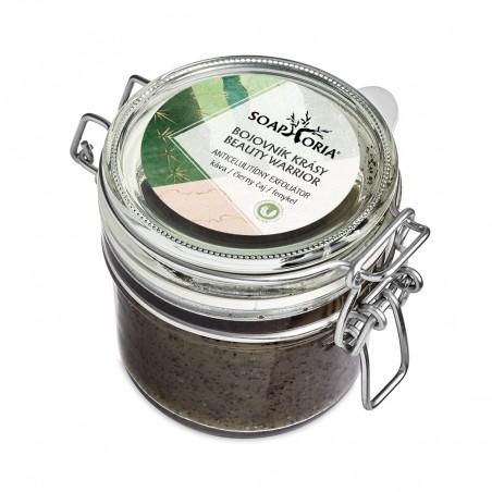 Kávička - organický soľný telový peeling