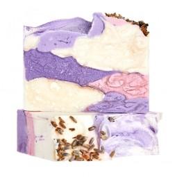 Levanduľové pole - prírodné mydlo