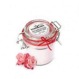 Romantická ruža - XXL organické telové suflé