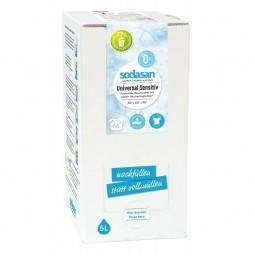 Universal tekutý prací prostriedok sensitive - 5 litrov