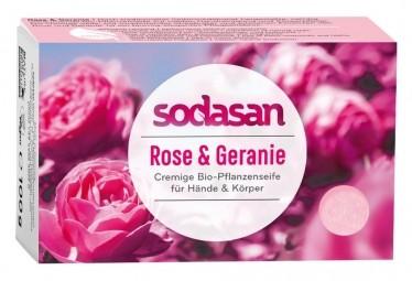 BIO pleťové mydlo Cream Divoká Ruža