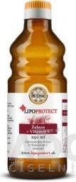 Železo + Vitamín C LIPOPROTECT - St. CRUX lipozomálne železo s vitamínom C v oleji, pomaranč, 1x250 ml