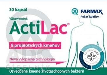FARMAX ActiLac (inovácia) cps 1x30 ks