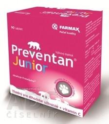 FARMAX Preventan Junior + vitamín C tbl 1x90 ks