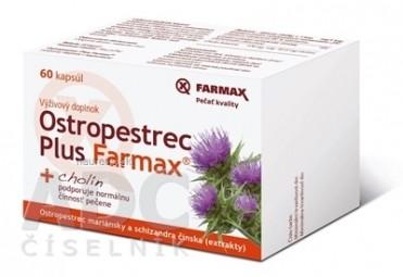 Ostropestrec Plus Farmax cps 1x60 ks