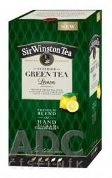 Sir Winston Tea GREEN TEA Lemon zelený čaj 20x1,75 g (35 g)