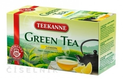 TEEKANNE GREEN TEA CITRÓN