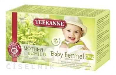 TEEKANNE M&CH Baby FENNEL Tea 1m+
