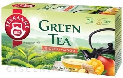 TEEKANNE GREEN TEA GINGER - MANGO