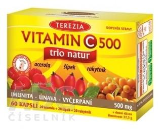 TEREZIA VITAMIN C 500 trio natur