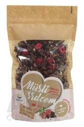 topnatur Müsli srdcom MALINA & Belgická čokoláda