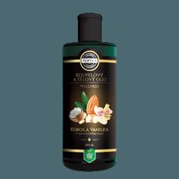 Kokos a vanilka v mandľovom oleji 200ml