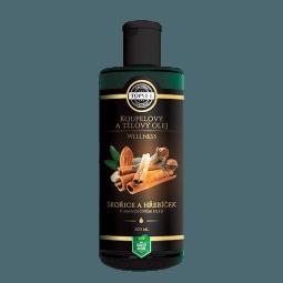 Škorica a klinčeky v mandľovom oleji 200ml