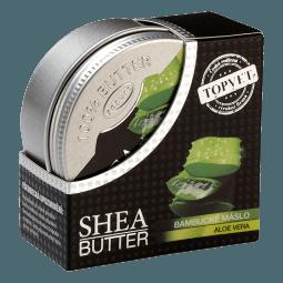 Bambucké maslo (shea butter) s aloe vera 100ml