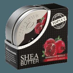 Bambucké maslo (shea butter) s granát. jablkom 100ml