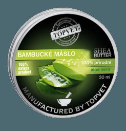 Bambucké maslo (shea butter) s aloe vera 30ml