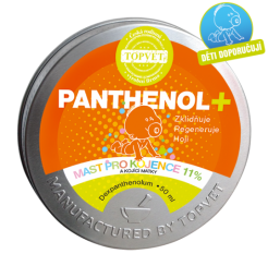 PANTHENOL + MAST PRE DOJČATÁ 11% 50ml