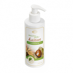 Gaštanové masážne mlieko 200 ml
