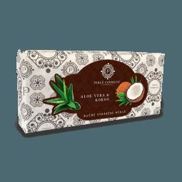 Mydlo Aloe vera a kokos 115g