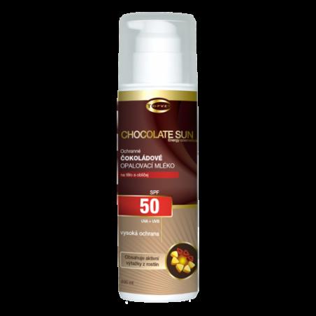 Čokoládové opaľovacie mlieko OF 50 200 ml