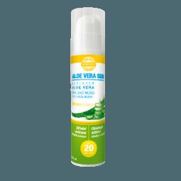 Aloe vera opaľovacie mlieko SPF 20 200ml