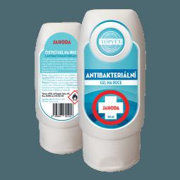 Antibakteriálny gél na ruky - Jahoda 50ml
