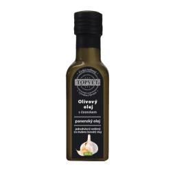Olivový olej s cesnakom 100ml