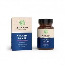 Vitamíny D3 a K2 60 kps.