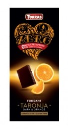 Torras ZERO horká - pomaranč 125g