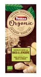 Torras Organic horká - maca a zázvor 100g