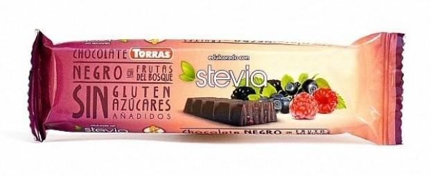 Tyčinka horká čokoláda s lesným ovocím 35 g