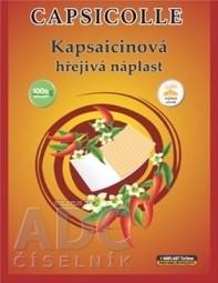 Kapsaicínová hrejivá náplasť CAPSICOLLE 7x10 cm 1x1 ks