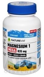 SWISS NATUREVIA MAGNESIUM 1 MEGA 835 mg tbl 1x90 ks