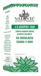 J.V. KVAPKY - DIA na reguláciu cukru v krvi 1x50 ml