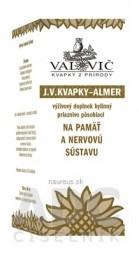J.V. KVAPKY - ALMER na pamäť a nervovú sústavu 1x50 ml