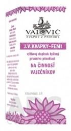 J.V. KVAPKY - FEMI na činnosť vaječníkov  1x50 ml
