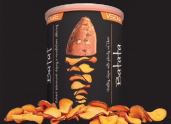 Zeleninové chipsy - Batat