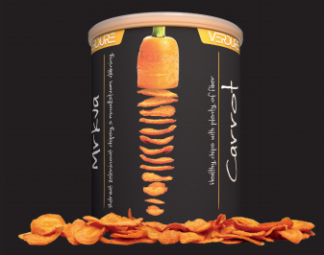 Zeleninové chipsy - Mrkva