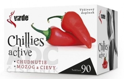 VIRDE CHILLIES ACTIVE tbl 1x90 ks