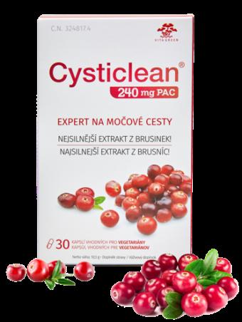 Brusnice - Cysticlean 30 kapsúl
