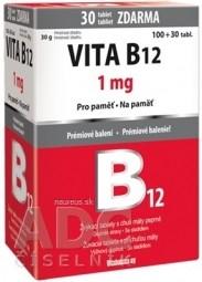 Vitabalans VITA B12 1 mg
