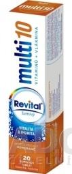 Revital multi 10 vitamínov + vláknina šumivý