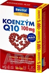 Revital KOENZÝM Q10 100 mg+VITAMÍN E+SELÉN MAX